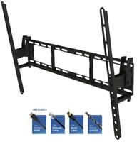 "Tilting TV Wall Bracket Mount Installation Kit - 37"" to 80"" Screen - PRO SIGNAL"