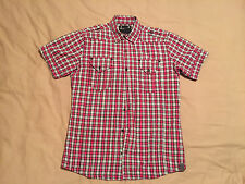 Mens G Star Raw Check Shirt Size Medium Great Condition Plenty Of Life In It