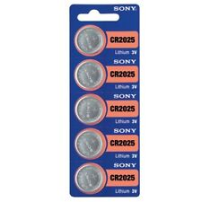 5 SONY CR2025 DL2025 CMOS Lithium 3V Watch Battery Exp 2025 Ships FREE from USA!