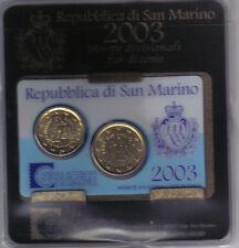 SAN MARINO 2003 MINIKIT UFFICIALE ESAURITA ALLA ZECCA