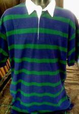 Camicie casual e maglie da uomo verde in cotone con colletto