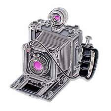 Official Exclusive Linhof 5 x 4 Master Tecknika Camera Lapel Pin Badge (UK)