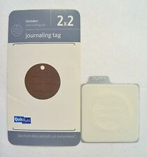 Quickutz Scrapbooking 2x2 Cutting Die Journaling Tag QC-0016-S Paper Crafts