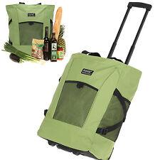 Trolley PUNTA Wheel Shopper Shoppingtrolley Einkaufsroller Bag 06980-3700 GRÜN