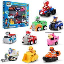 7 Pcs Racer Car Paw Patrol Dog Marshall Rubble Rocky Chase Skye Kids Toys Gifts