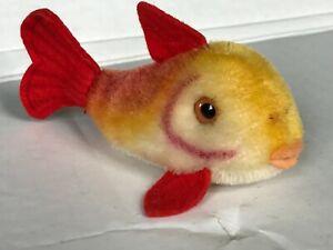 R-162-7) Original Steiff Fisch Flossy *