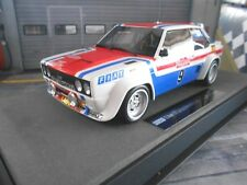 Fiat 131 Abarth Rally de San Remo 1977 winner #9 Andruet vencedor top marques 1:18