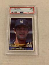 1984 Donruss #248 Don Mattingly RC Rookie New York Yankees PSA 9 MINT