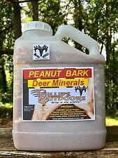 PEANUT BARK Deer Minerals, Deer Attractant & Rack Builder,