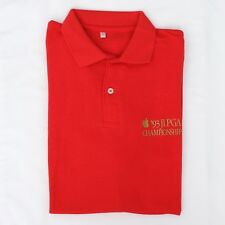 Vintage Original Apple 1993 JLPGA (PowerBook 180) Tournament Red Polo Shirt
