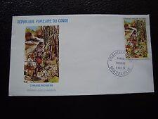 CONGO (brazzaville) - enveloppe 1er jour 5/10/1978 (B2)