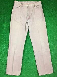 Wrangler Vintage High Waist Mom Jeans U.S.A Made Denim Sz 15x34 13MDRG Rose Rare