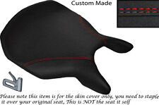 GRIP DESIGN 2 RED DS STITCH CUSTOM FITS DUCATI 999 749 FRONT SEAT COVER