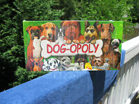 Dog-Opoly A Tail Wagging Property Trading Game By Late for the Sky New & Sealed!