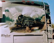 RV Airbrush Handpainted Mural ArtWork 8x10 Photo Portfolio Pages Artist-Gift