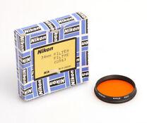 Nikon Orangefilter 056 mit Fassung 39mm für die Filterschublade