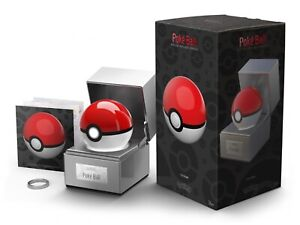 IN HAND Pokeball Pokemon Official The Wand Company Replica Light Up LED Model