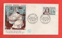 FDC - 1959 - Marceline Desbordes Valmore 1786-1859 (753)
