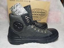 Converse CT All Star Street Hiker Black Outdoor Buckle Black Shoe Women Size 5.5