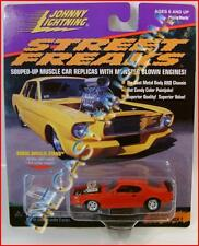 1973 '73 FORD MUSTANG MACH 1 RED STREET FREAKS JL JOHNNY DIECAST RARE