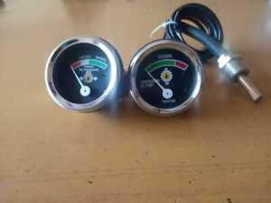 caterpillar gauge Water Temperature and oil pressure