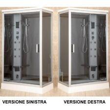 Cabina Idromassaggio 6 getti 70x120 box doccia multifunzione con o senza sauna 4