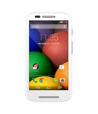 Motorola Moto-E 1st Gen XT1022 4Gb White,with scratches+3 Months Seller Warranty