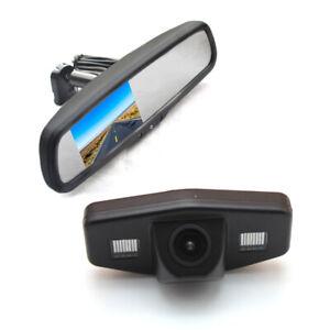 Reverse Parking Camera + Rear view Mirror Monitor for Honda Accord Pilot Civic