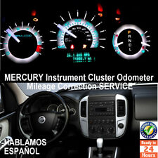 Mercury Instrument Gauge Cluster Mileage Correction/Programming Service
