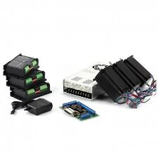 3-Axis NEMA23 CNC Kit:  381 oz-in Stepper Motor, 36VDC, 9.7A power supply