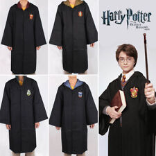 Harry Potter Gryffindor Hogwarts Cape Cloak Halloween Cosplay Party Costume Xmas