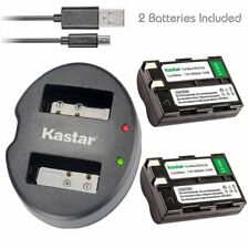 Kastar EN-EL3A Battery & Dual USB Charger for Nikon D50 D70 D70s D100