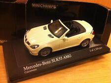 MERCEDES SLK 55 AMG TYPE R171  2008 / 2010 1/43  MINICHAMPS WHITE