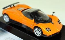 Motormax 1/24 Scale - 73369o Pagani Zonda F Orange metallic Diecast model car