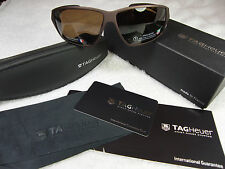 Tag Heuer 9203-202 Sunglasses Sandpolished, Polarized Brown Precision Lens