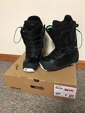 NEW (in box) 2015 Burton Ruler Black/White Snowboard Boots - Men's Size 9