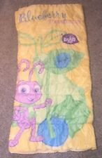 Disney Pixar A Bugs Life Blueberry Princess Sleeping Bag Vintage EUC VHTF