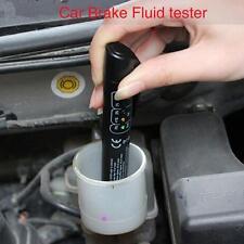 Brake Fluid Tester LED Moisture Water Compact Tool DOT3 4 Test Indicator Pen GF