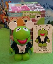 "DISNEY Vinylmation 3"" Park Set 1 Muppets Chaser Kermit the Frog w/ Box & Card"