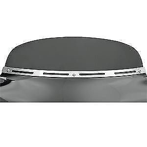 Batwing Fairing Slotted Chrome Trim by Memphis Shades