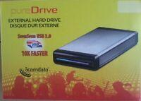"ACOMDATA USB 3.0 eSATA 3.5"" SATA HARD DRIVE CASE NEW High Speed External"
