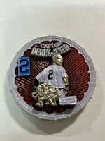 DEREK JETER Yankees Captain #2 Retired NY MLB Baseball New York Challenge Coin