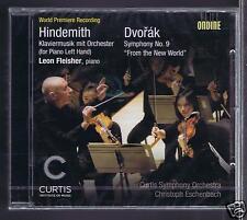 HINDEMITH DVORAK CD NEW LEON FLEISHER/ CHRISTOPH ESCHENBACH