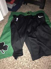 Boston Celtics Nike 19/20 Icon Swingman Black  Shorts XL $80