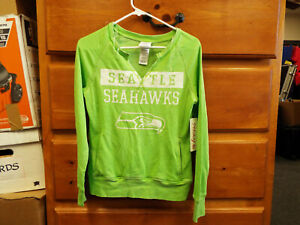 Seattle Seahawks TEEN Girls Official NFL Jersey Style Athletic Shirt  M 7/9 New