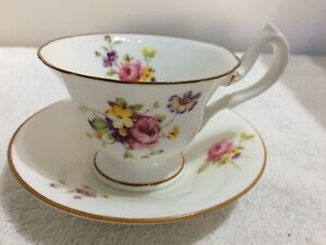 1931 Royal Worcester demitasse cup and saucer
