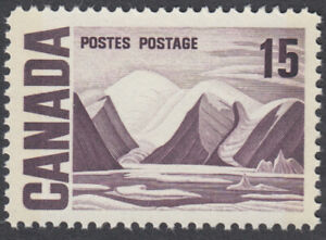 Canada- #463p - 15c Centennial Issue Bylot Island, DF, W2B Tagged, DEX Gum - MNH