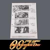DIE ANOTHER DAY - JAMES BOND - Production Used Storyboard - Chase Scene, Jinx