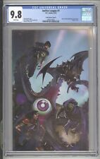 JUSTICE LEAGUE #1 - C. CRAIN BRAVE & THE BOLD #28 HOMAGE VARIANT COVER - CGC 9.8