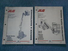 1999 JLG E300A E30AJ E300AJP SERVICE & MAINTENANCE and ILLUSTRATED PARTS MANUAL